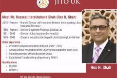 Rex H Shah
