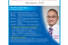 Profile - Mr. Ashok Shah UK